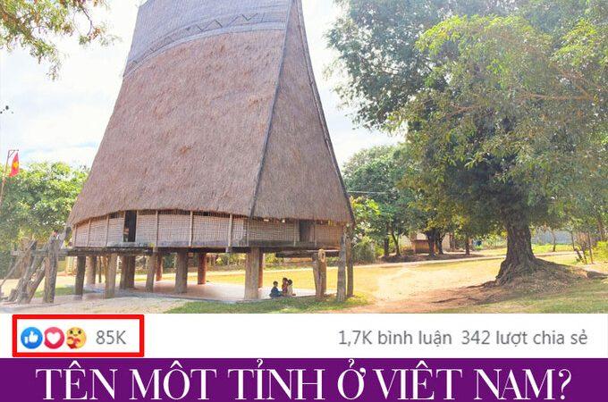 Đố vui 001: Tên tỉnh nào ở Việt Nam?