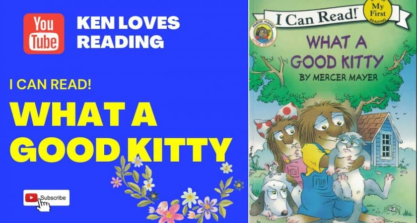 What a good kitty | I Can Read | My First Reading